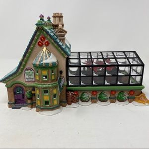 Department 56 Mrs. Clause Greenhouse
